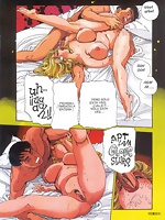 Old kamasutra positions and new actions in comics