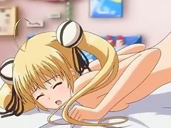 Hentai Sex Video :: Machi Gurumi no Wana: Hakudaku ni Mamireta Shitai  Episode 2 . This blonde hentai teen gets fucked both at home and in school