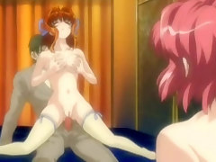 Enjoy verge on anal sex in insane anime