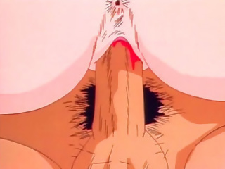 Innocent hentai girl gets virgin pussy filled