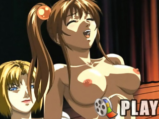 Divine hentai babe with two heavy tits gets screwed